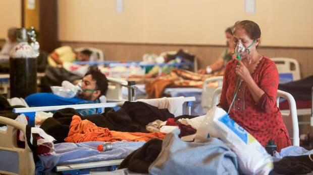 Индийские медики выявили новый симптом коронавируса