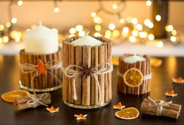 Новогодние поделки: как креативно и стильно украсить интерьер и елку (55 фото)
