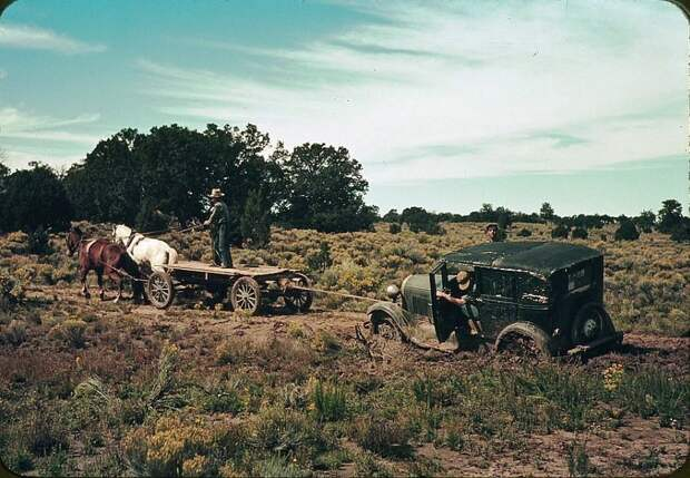 От лошадей к «Форду»: как «одомашнивали» ДикийЗапад
