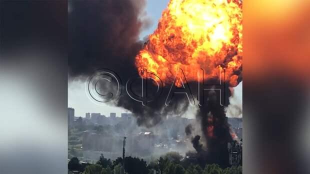 Делом о пожаре на новосибирской АЗС займется центральный аппарат СК РФ