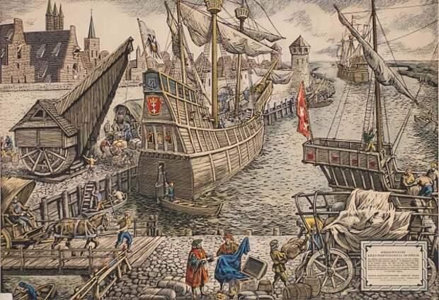 Конторы Ганзейского союза. Любек — столица Ганзейского союза. (2 статьи)