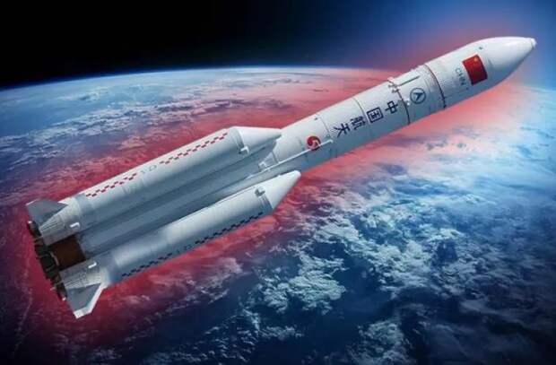 На Землю упали обломки неуправляемой китайской ракеты
