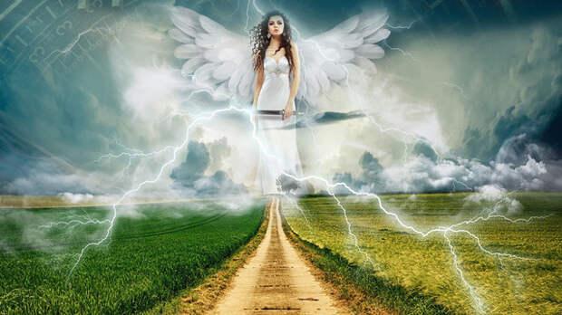 загробный мир, ангел, Ад, Рай