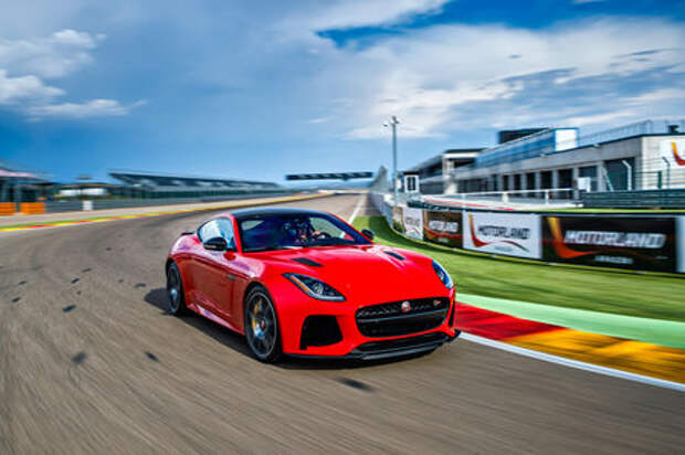 Jaguar F‑Type SVR Coupe: буря эмоций