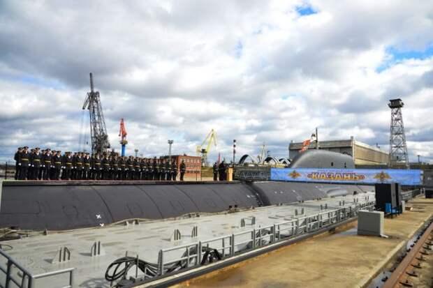 Подводный крейсер «Казань» передан ВМФ РФ