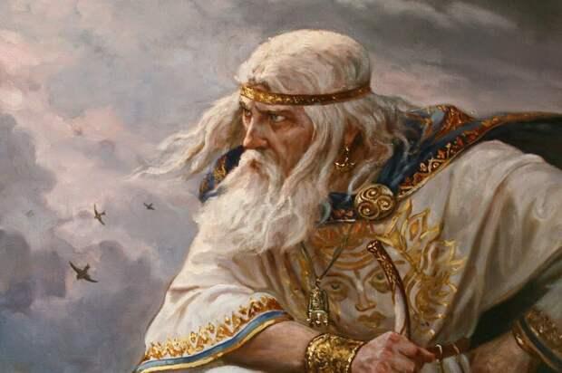 """А. Шишкин """"Стрибог"""""""