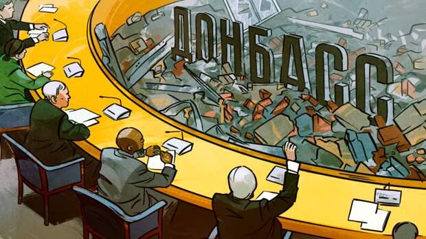 Политолог Денисов прокомментировал возобновление Минских договоренностей по Донбассу