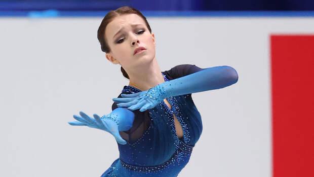 Щербакова выиграла произвольную программу на КЧМ в Японии