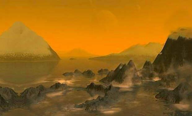 Первые реальные снимки Сатурна: астрономы показали зеленые горы и желтое небо