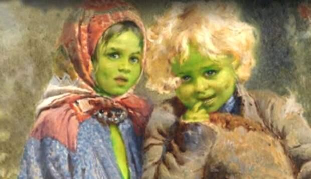 В поисках потомков зеленых детей Вулпита