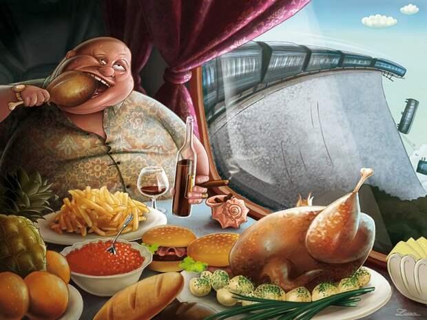 Очищение организма: кислая среда приводит к ожирению и раку
