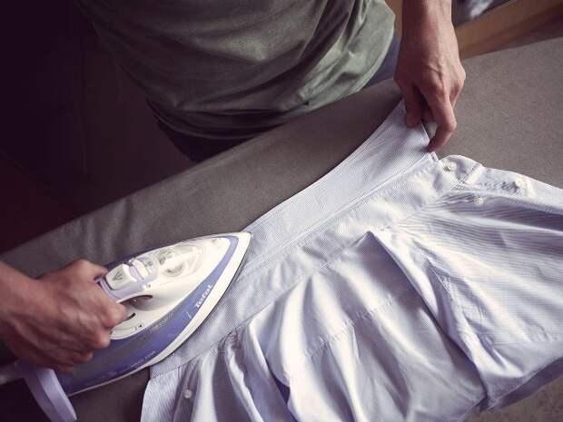 Как накрахмалить рубашку в домашних условиях