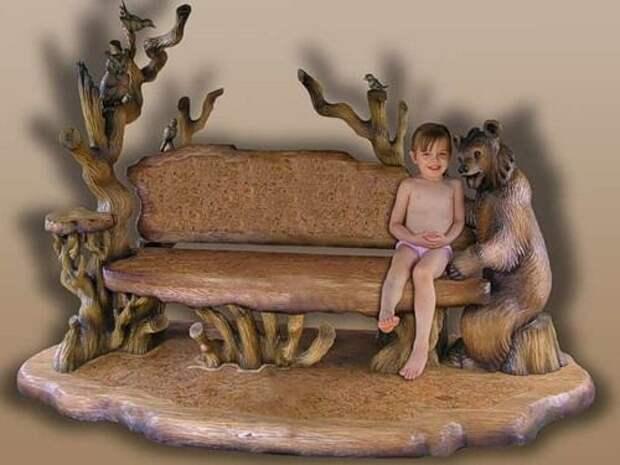 Резьба по дереву (30 фото)