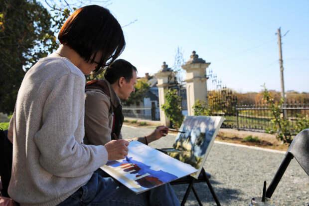 В Херсонесе торжественно открылась «Арт-осень»