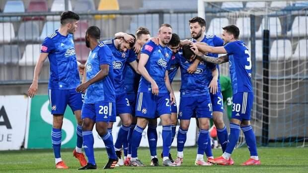 «Динамо» изЗагреба в22-й раз стало чемпионом Хорватии