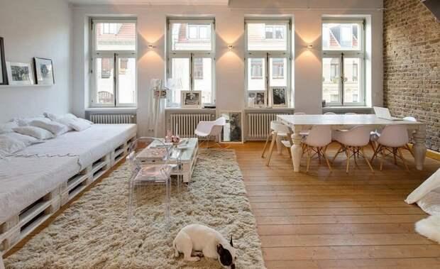 Невероятное оформление интерьера при помощи декорирования комнаты и создания просто отменного настроения в ней.
