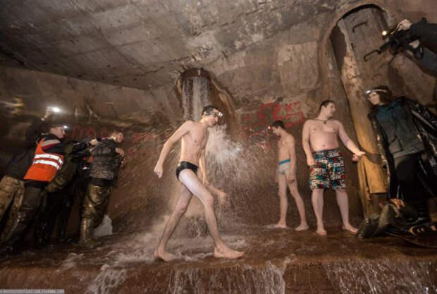 Крещенские купания в Столбе Смерти