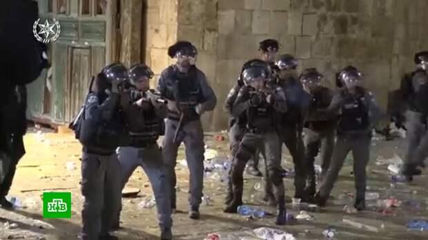 Салют вместо ракет: палестинцы и израильтяне всю ночь праздновали перемирие