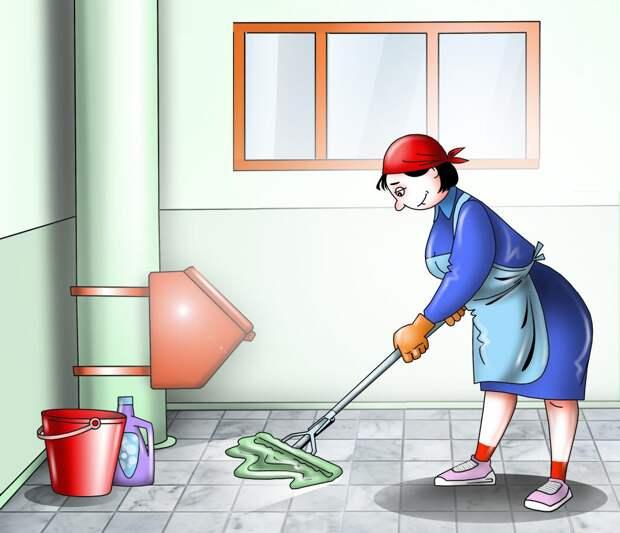 Как часто в жилых домах ЮВАО должны проводить уборку подъезда?