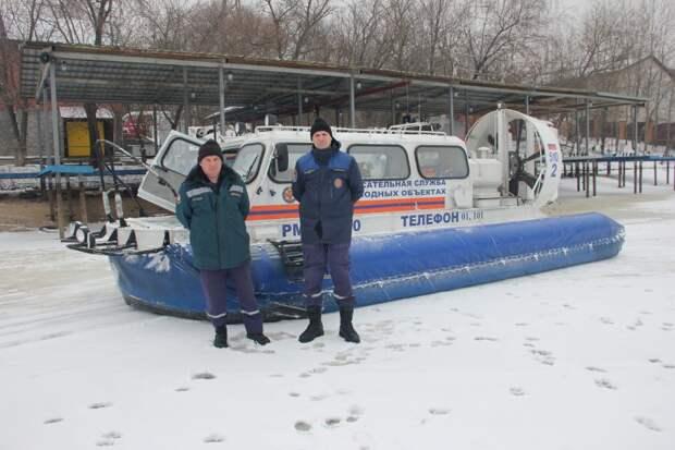 Спасатели провели патрулирование Химкинского водохранилища