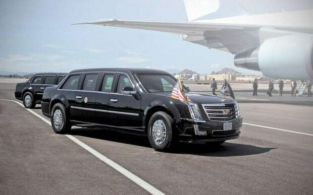 На чем будут ездить Трамп и Путин. И что их связывает . Обзор президентских авто!