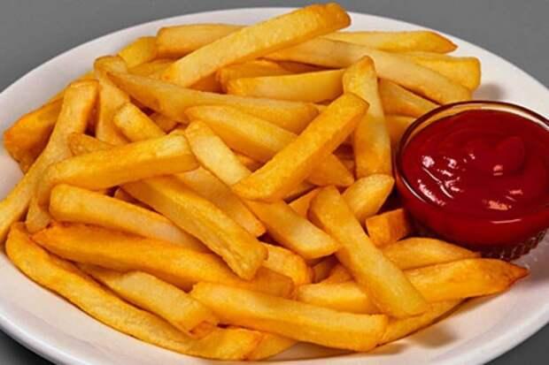 Картошка фри в домашних условиях. Блюдо получается менее жирным и очень вкусным 4