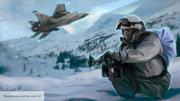 NDM: американцы готовятся к войне  с русскими в Арктике