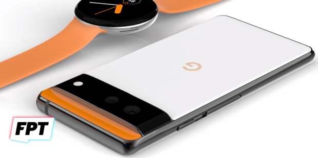 Смартфон Google Pixel 6 представили в обновленном дизайне