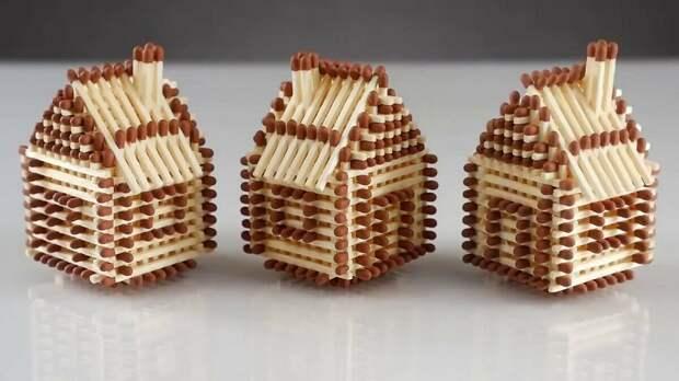 Удивительные поделки, которые можно создать из спичек