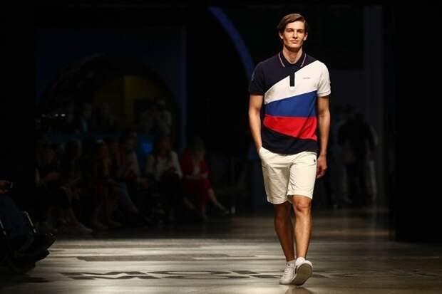 Олимпийский комитет России презентовал экипировку спортсменов для Игр в Токио