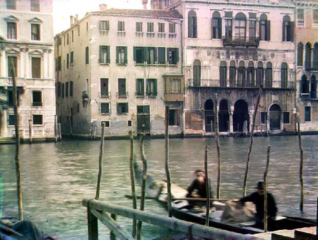 Предвоенная Венеция на цветных снимках Бернарда Эйлерса