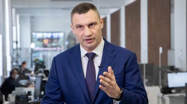 Силовики нагрянули с обысками в подъезд Виталия Кличко