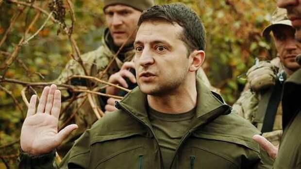 Донбасс. Зеленский устроил показательный спектакль в окружении представителей Запада