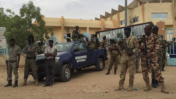 Глава переходного военного совета Чада посетил с рабочим визитом Республику Конго