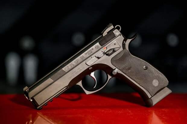 CZ-75SP – чешское стрелковое оружие с непростой историей