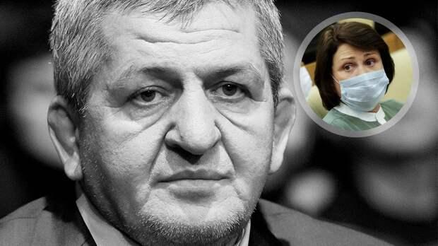 Роднина: «Смерть отца Нурмагомедова будет для многих уроком. Раз сказали сидеть дома, нужно следовать требованиям»
