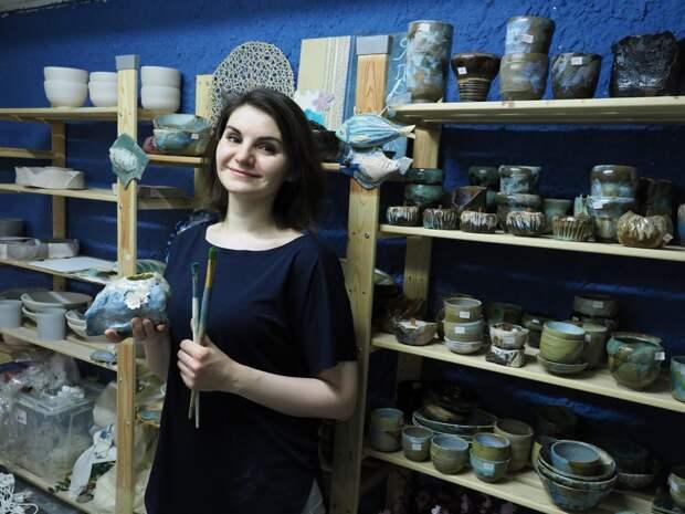 Жительница Северного Тушина увлеклась изготовлением необычной керамики