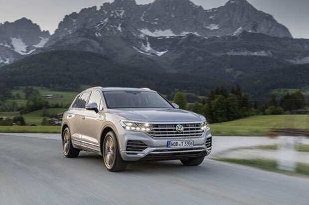 Volkswagen назвал цены новой версии Touareg Exclusive