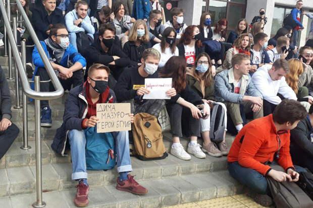 В Белоруссии отчислили 300 студентов из-за протестов