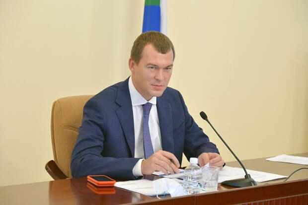 Путин пожелал удачи Дегтярёву на выборах главы Хабаровского края