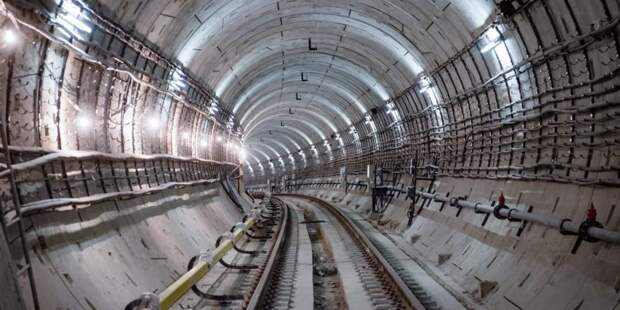 Собянин дал старт проходке двухпутного тоннеля на восточном участке БКЛ. Фото: Е. Самарин mos.ru