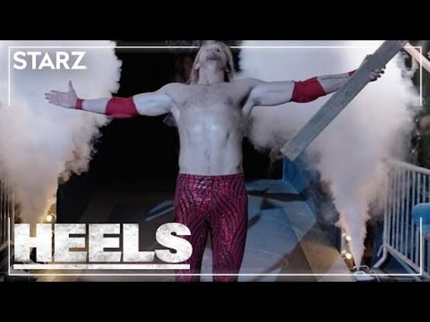 Heels Sneak Peek: Get a Look Behind the Scenes at Starz's New Wrestling Drama