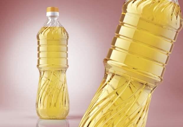 Бутылка подсолнечного масла. /Фото: darpolbel.by.