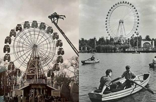 Самые любимые парки аттракционов в СССР
