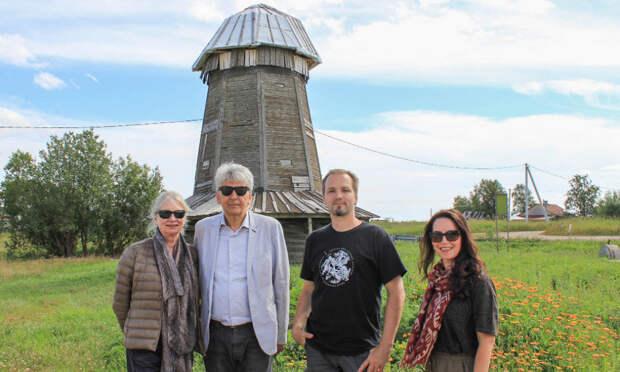 Генконсул Королевства Нидерландов приехал в Архангельскую область полюбоваться намезенские ихолмогорские мельницы