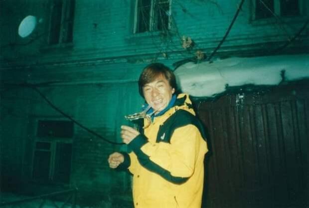 Архивные фотографии первого визита Джеки Чана в Россию