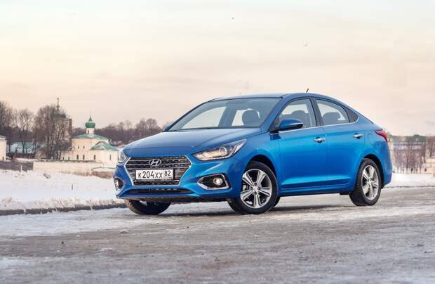 Solaris — самая популярная в России модель Hyundai по итогам 2017 года. Продано 68 614 автомобилей.