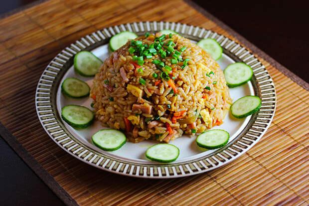 Fried rice - Жареный рис