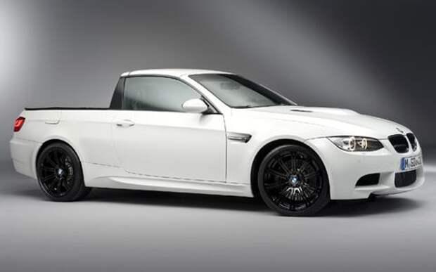 Баварские пикапы: BMW подумывает о серийной модели