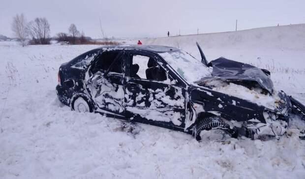 На 435 километре автодороги Казань - Оренбург в ДТП пострадал мужчина